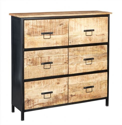 Cosmopolitan 6 Drawer Chest